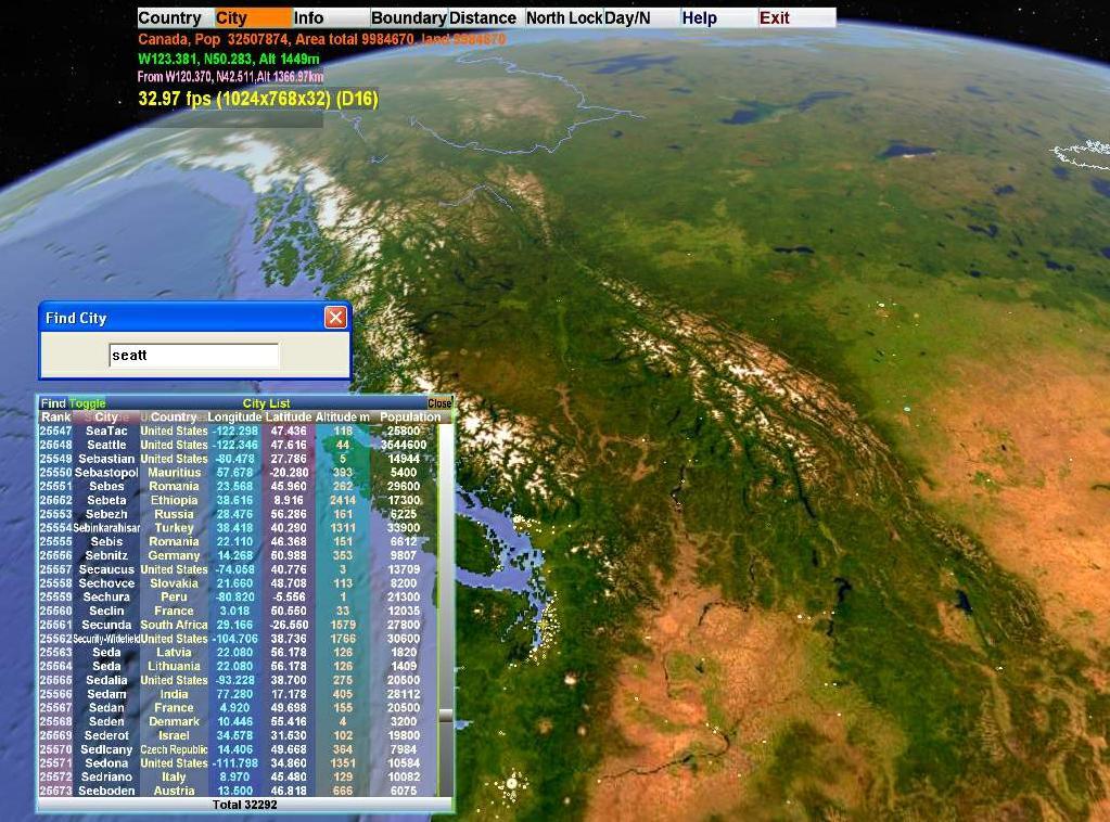 World portable برنامج اطلس العالم