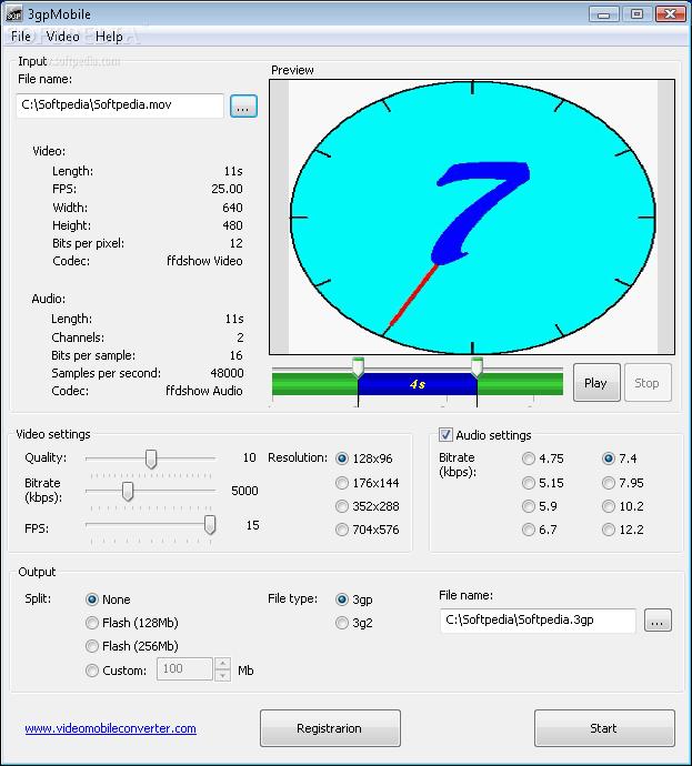 3gpMobile 1.0.0.18 3gpMobile_1.png