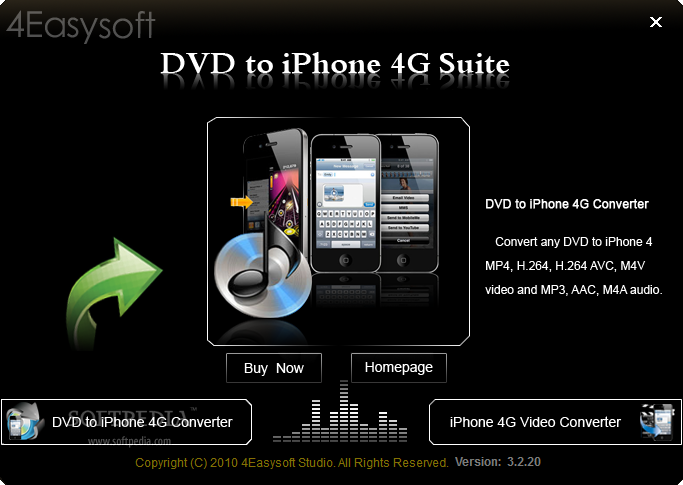 ������ 4Easysoft iPhone Suite 3.2.20 4Easysoft-DVD-to-iPhone-4G-Suite_1.png