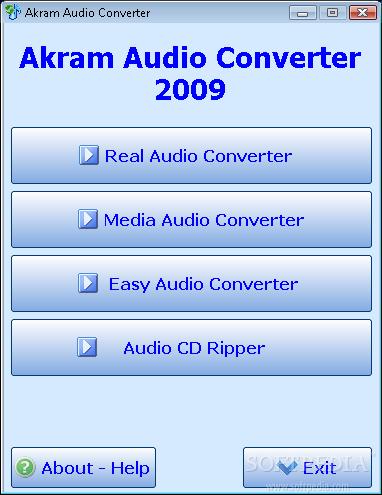 ������ Akram Audio Converter ���� ������ ����� �������� �� �� ���� ��� ����