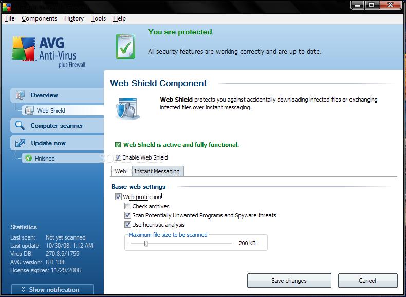 Avast antivirus filehippo free download.