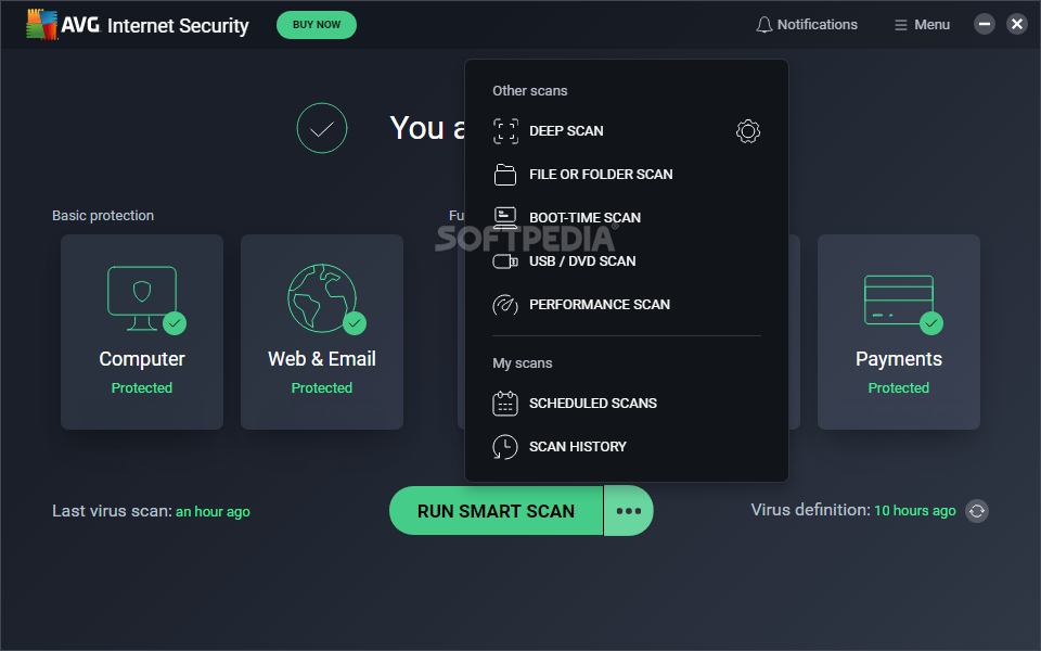 Avg internet security 9.0.697 incl life time serial by mwt