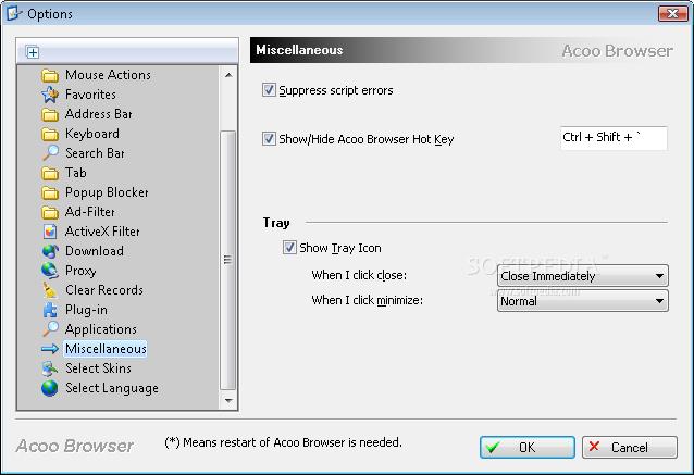 المتصفح الجديد Acoo Browser 1.95 Build 764