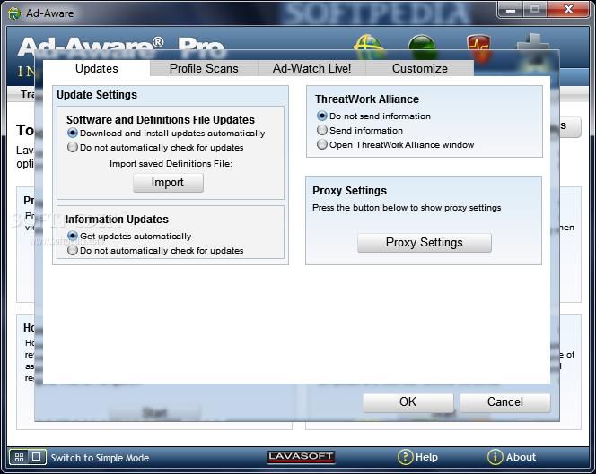 Lavasoft Ad-Aware Anniversary 2010 Pro 8.3.0 + crack Русская.