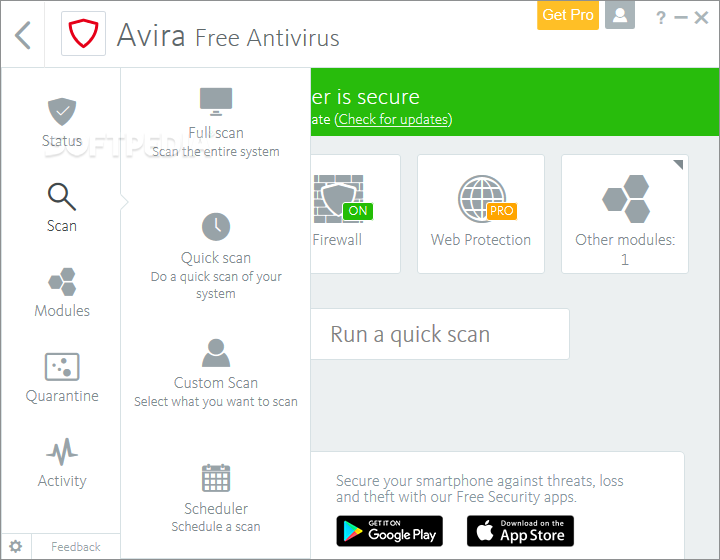 Avira AntiVir Personal 10.0.0.635 البرنامج AntiVir-Personal-Edition_4.png