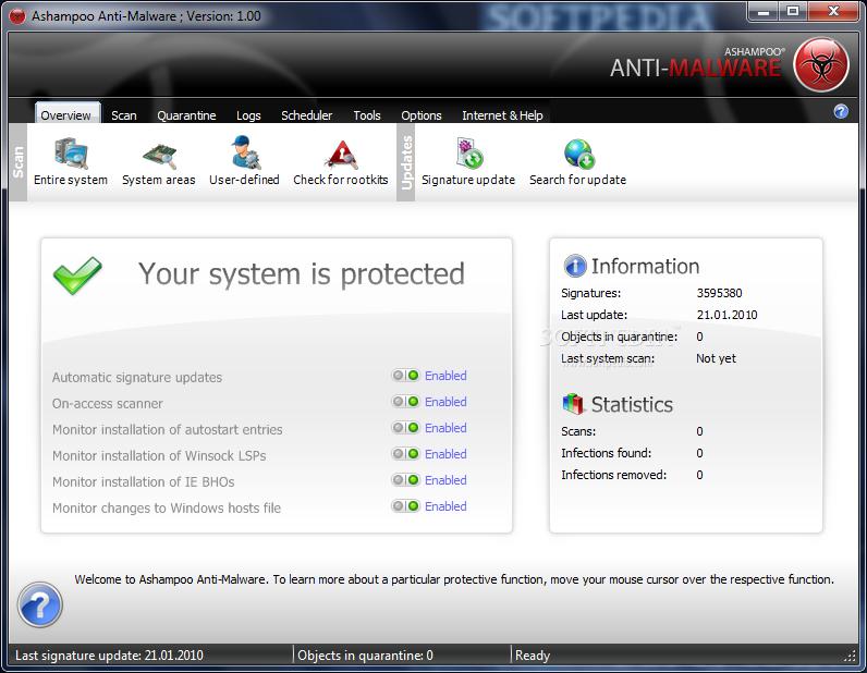 Ashampoo Anti-Malware gratuit