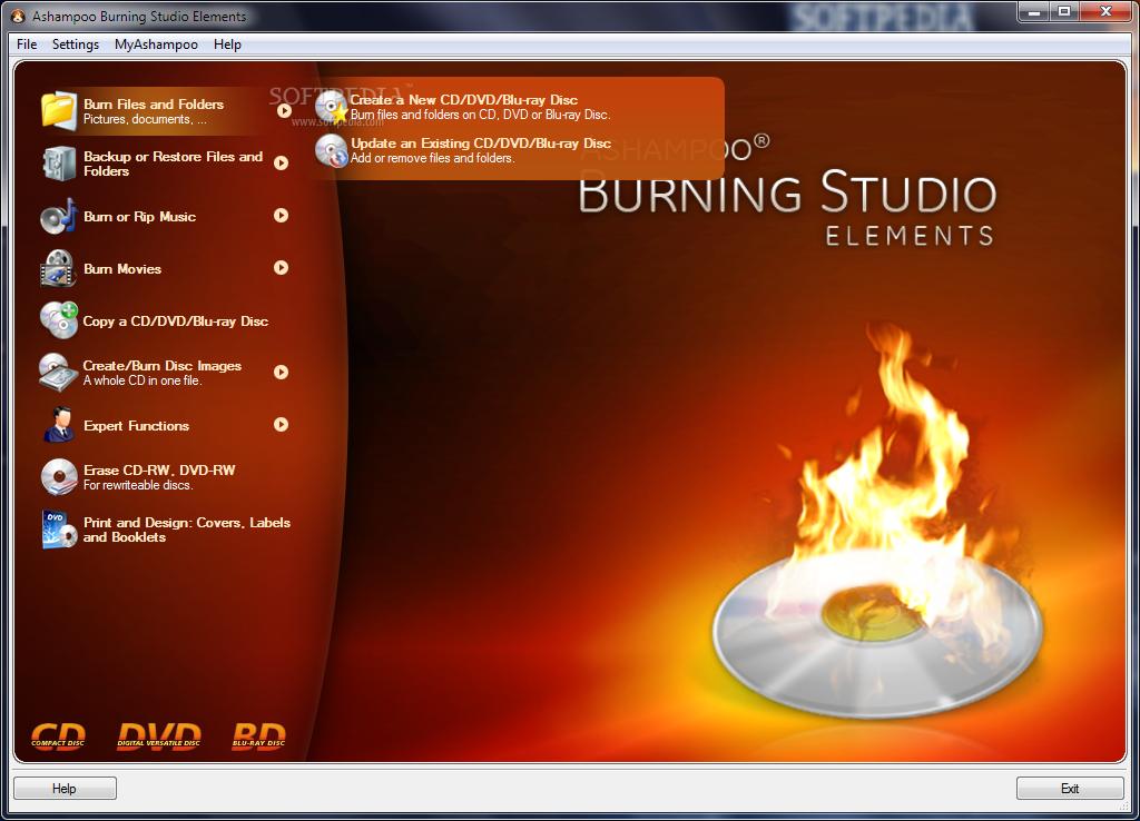 Ashampoo Burning Studio Elements 10.0.4