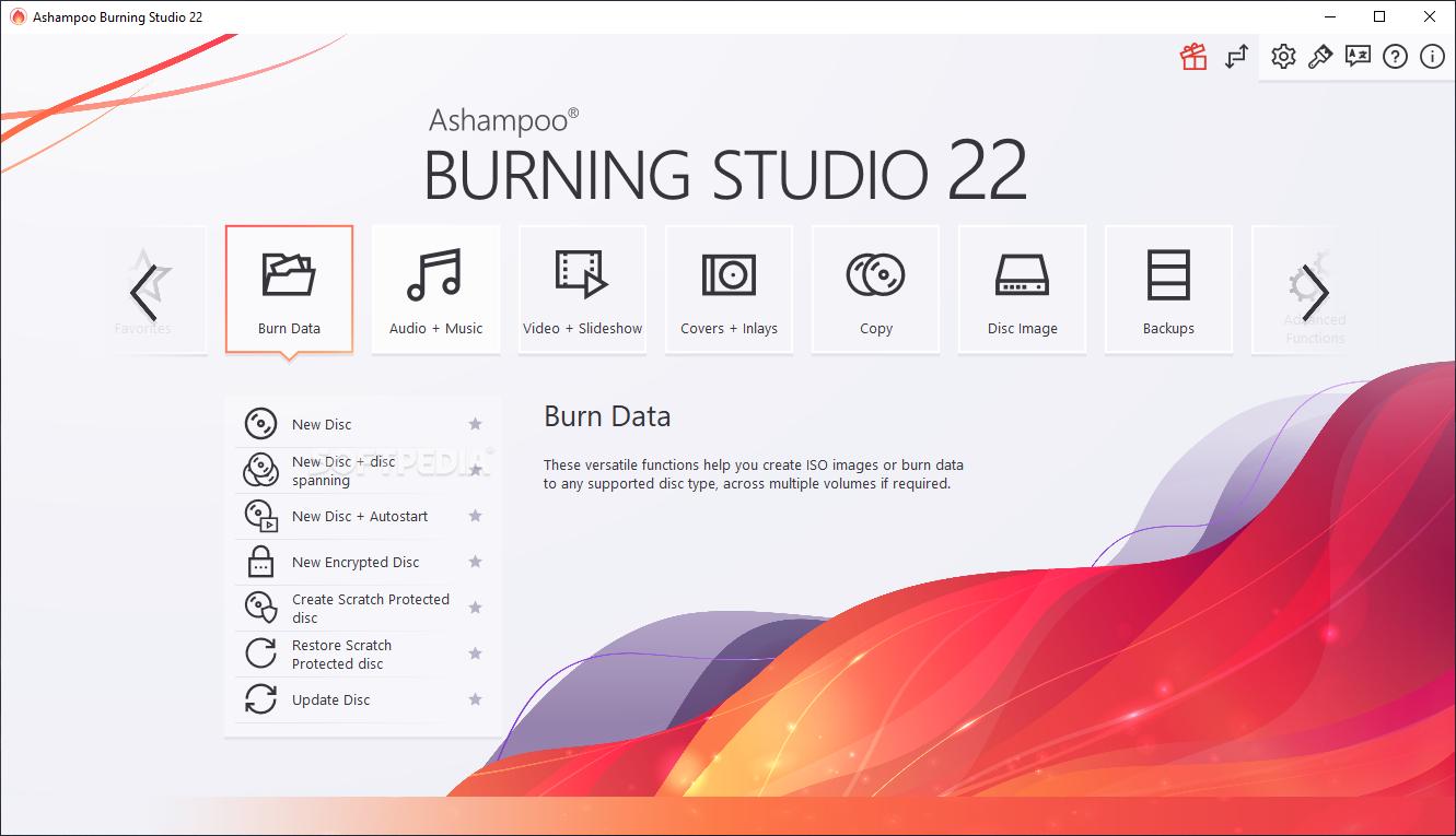 Ashampoo burning studio 9.20 portable descargar gratis