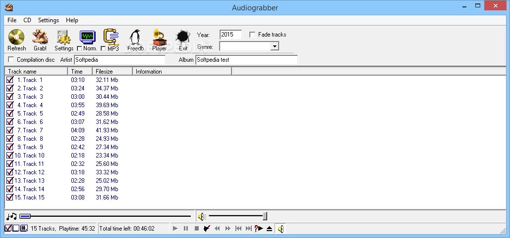 Audiograbber 1.83 الأسطوانات الأوديو Audiograbber_1.png