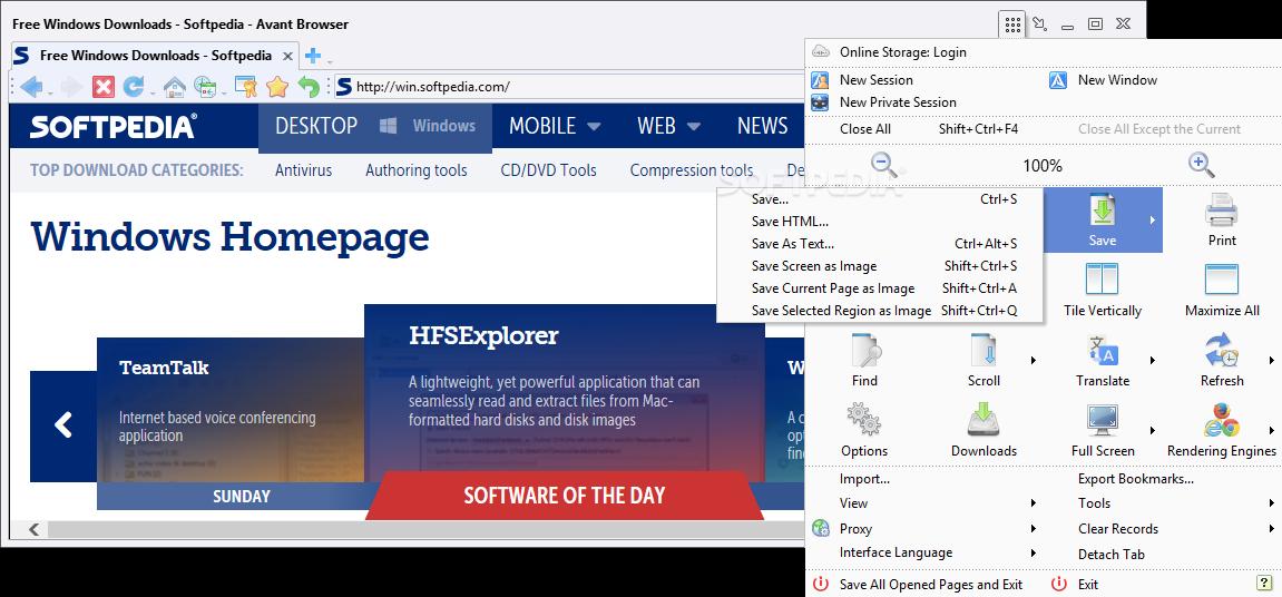 Avant Browser 11.7 build11 طازه