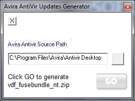 ايقونة برنامج تحديث الافيرا Avira Antivir 10 Updates Generator