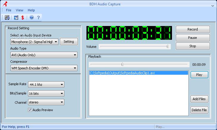 BDH Audio Capture v2 20 + Crack [h33t][MurtajiZ] preview 2