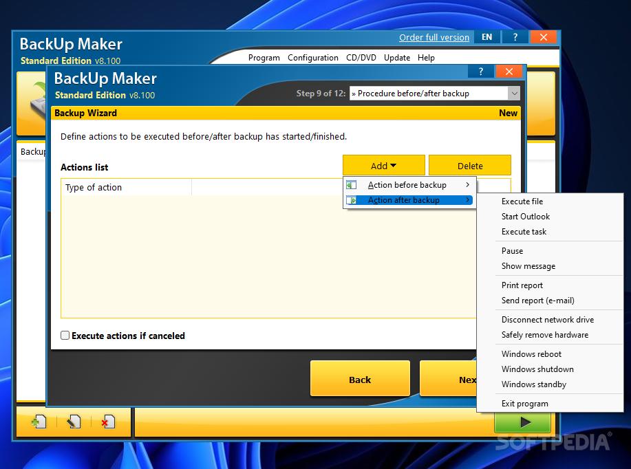 ����� ������ BackUp Maker Standard Edition 6.0  ���� ��� �������� ����� ������� �� ��