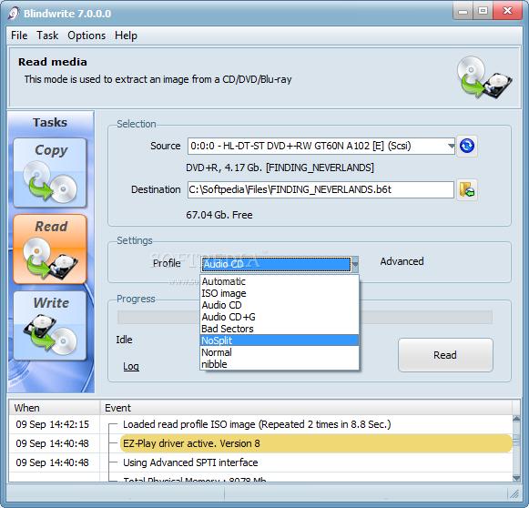 برنامج لعمل الاسطوانات محميه لا يمكن نسخها او عمل copy لها على الجهاز يجب تشغيلها من على ال cd Blindwrite_2
