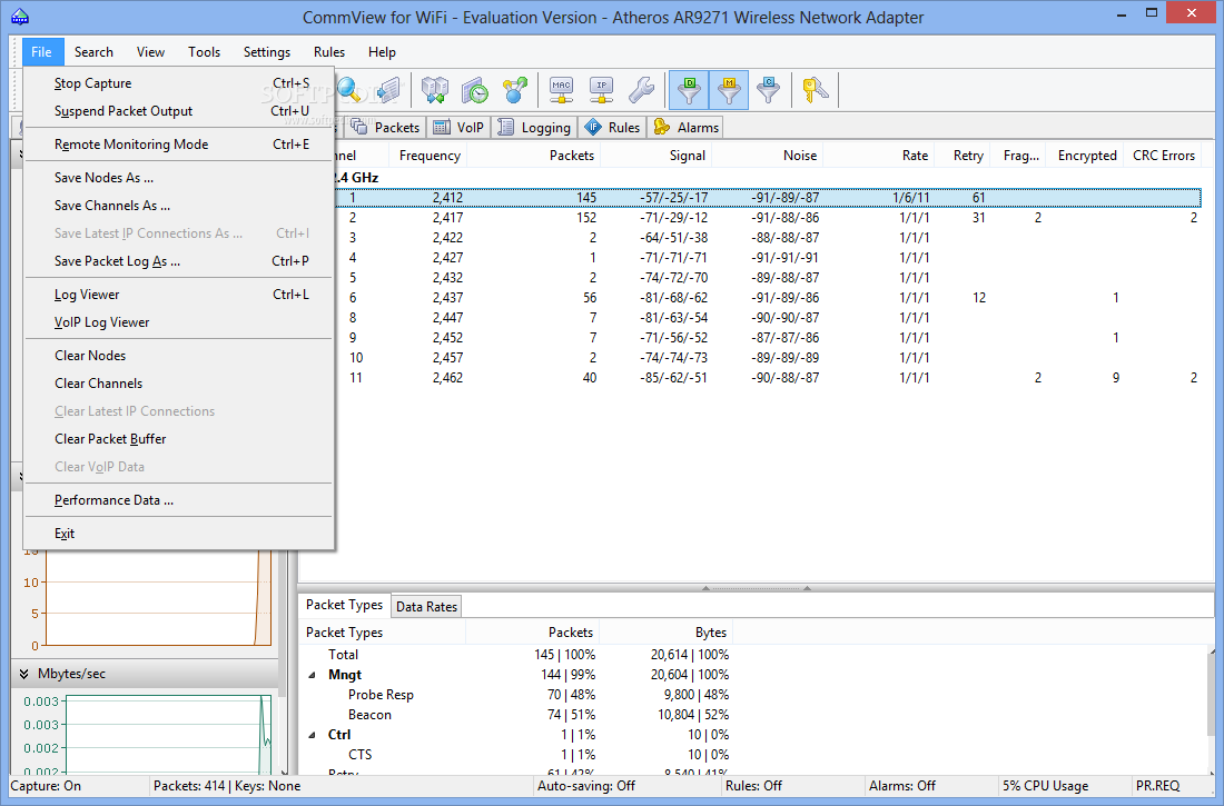 Commview for wifi 6 2 crack скачать :: Много файлов