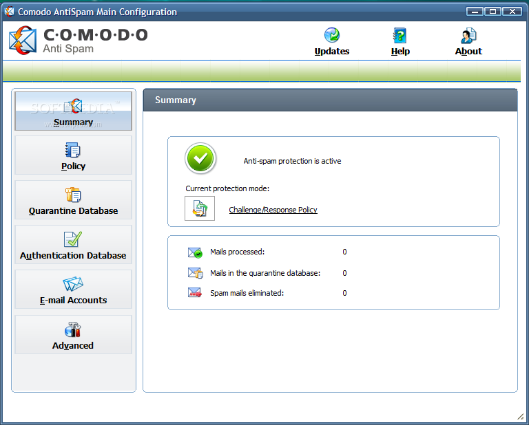 Comodo Antispam Desktop 1 Comodo AntiSpam   Ứng dụng phòng chống thư rác