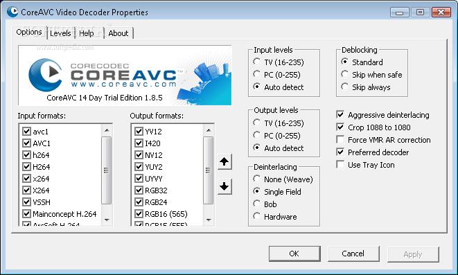 دانلود corecodec.coreavc.professional.edition.v2.0.0.0