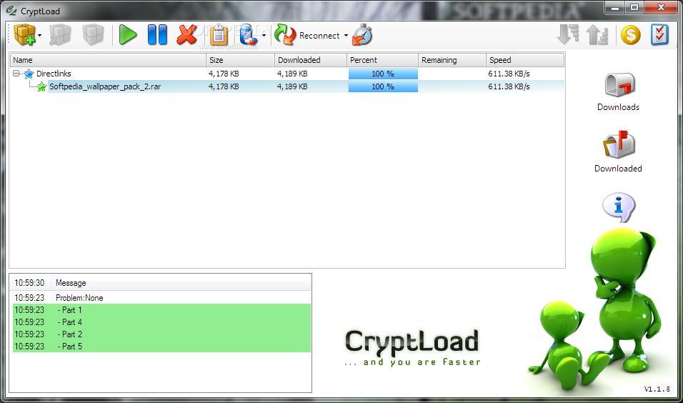 cryptload pour mac