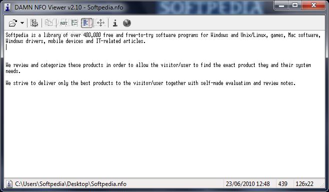 Addon]DAMN NFO Viewer 2 10 0032 RC3 - WPI, nLite and RVM Addons