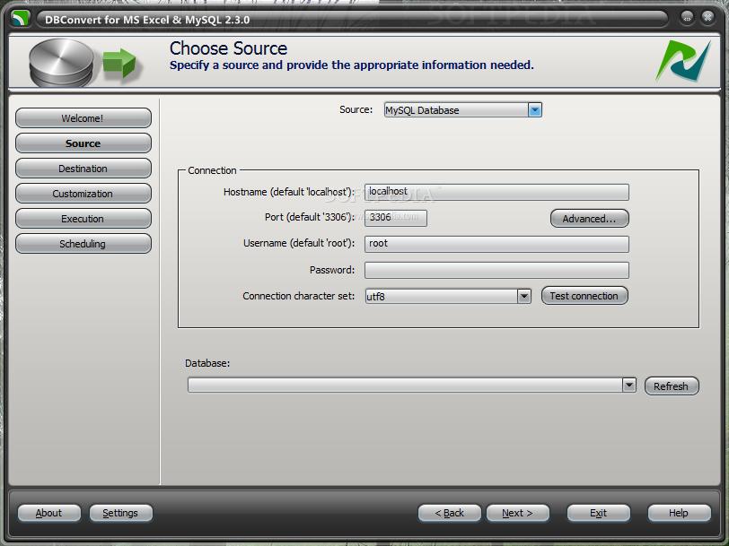 my download locker: DBConvert for MS Excel & MySQL 1.0.0