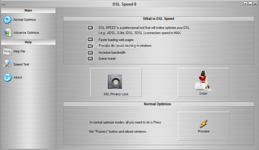 DSL Speed 4.2