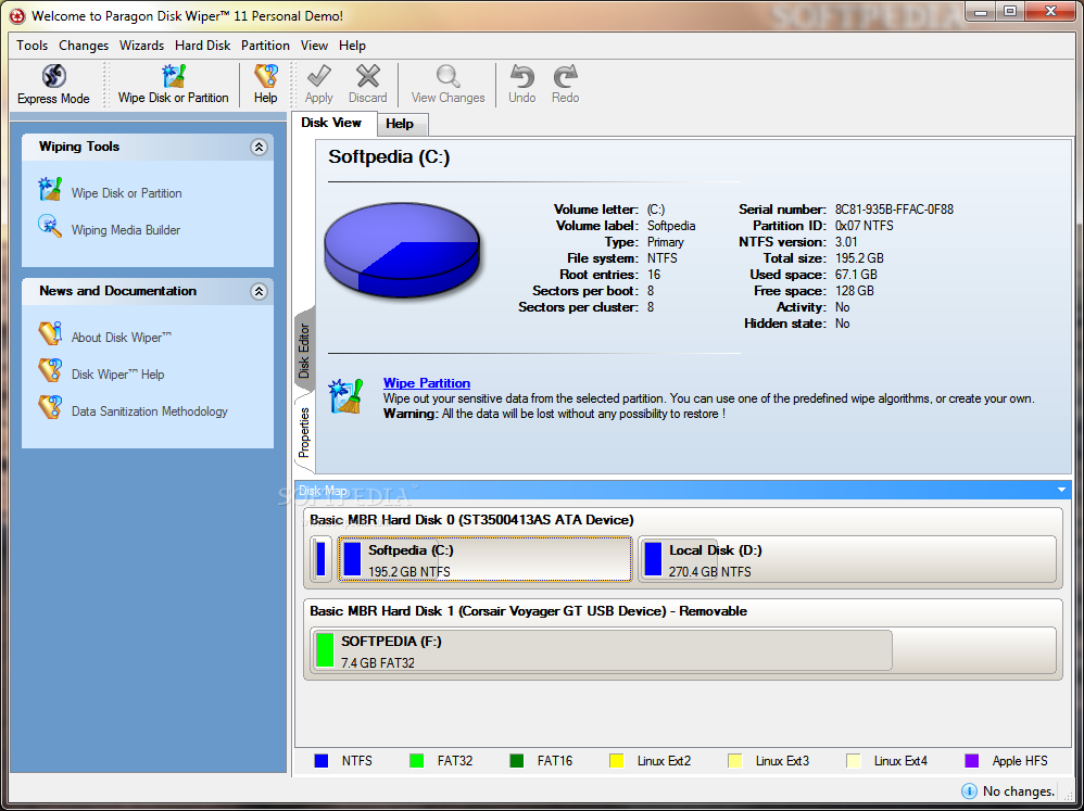 disk wiper 10