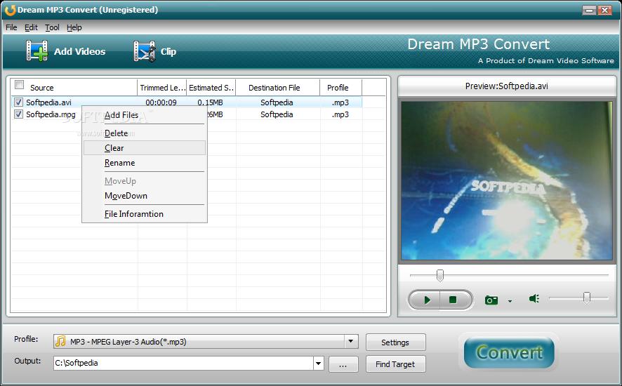������ Dream Convert 3.0.1.0 ������ Dream-MP3-Convert_1.png