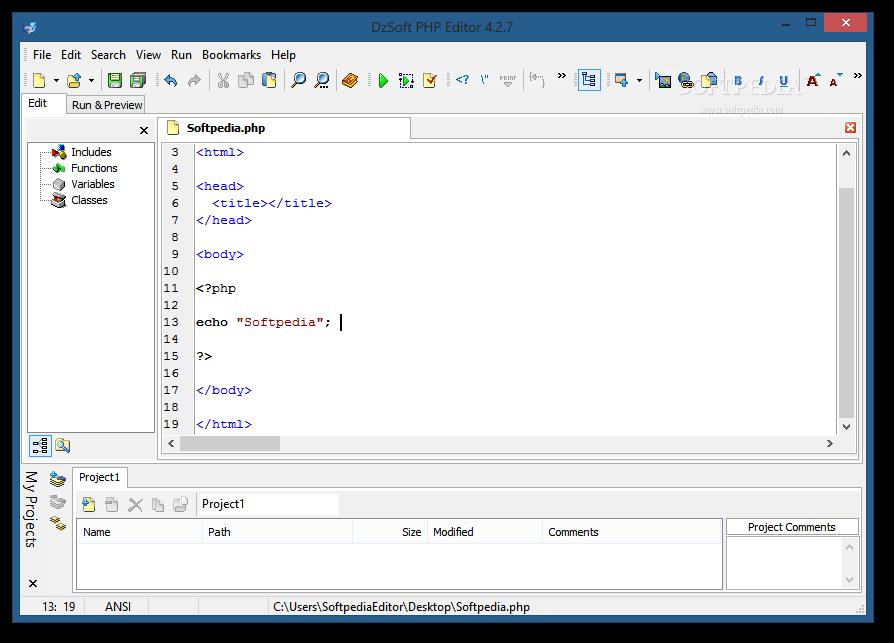 DzSoft PHP Editor 4.2.6.7