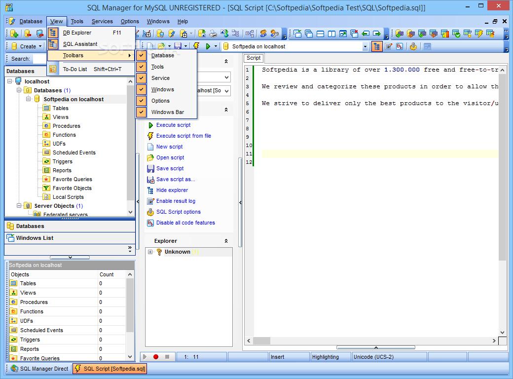 EMS SQL Manager 2007 for MySQL 4.5.0.7