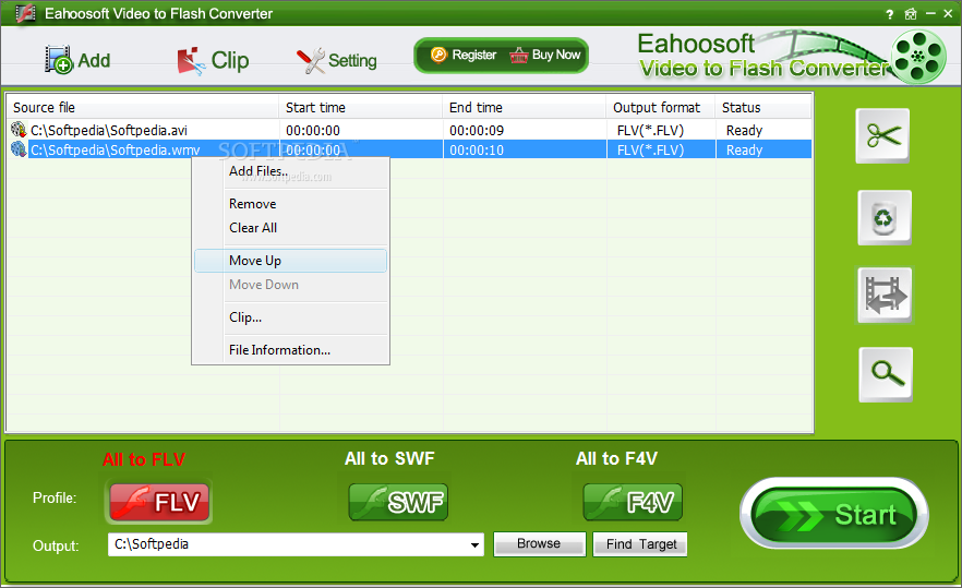 Eahoosoft video to flash converter 2.11 by adrian dennis