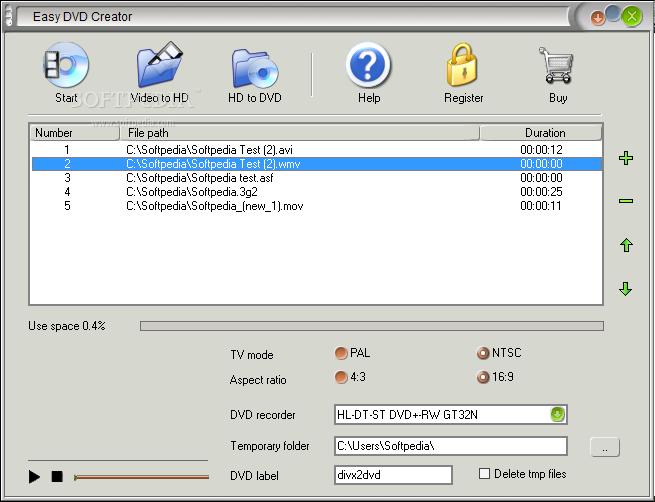 Easy Creator v1.2.1