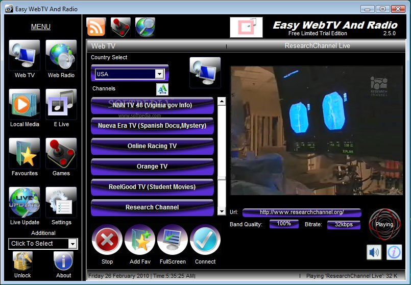 Easy WebTV Radio v1.4.0