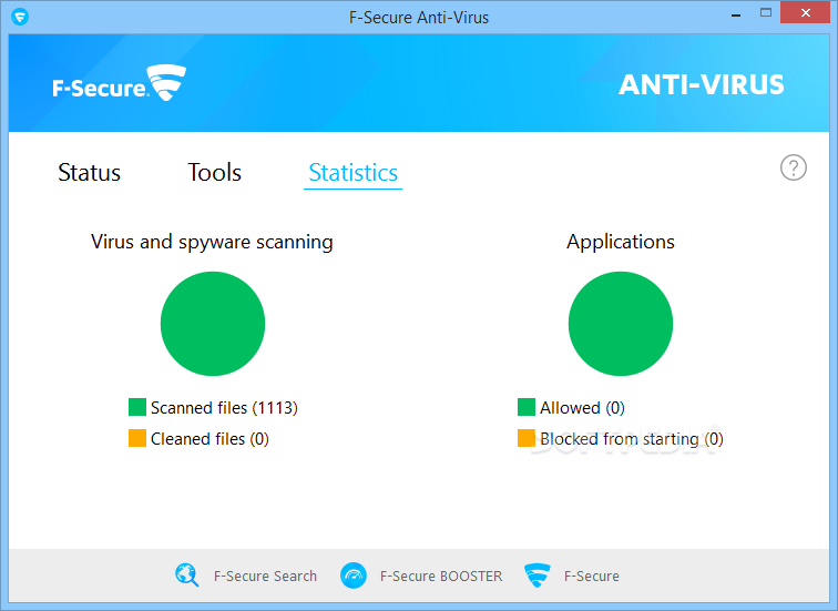 �������� ������ ������� ���������� ������� F-Secure-AntiVirus_6.png
