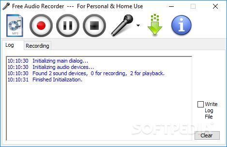 كيفية استخدام مسجل الصوت Windows Free-Audio-Recorder-