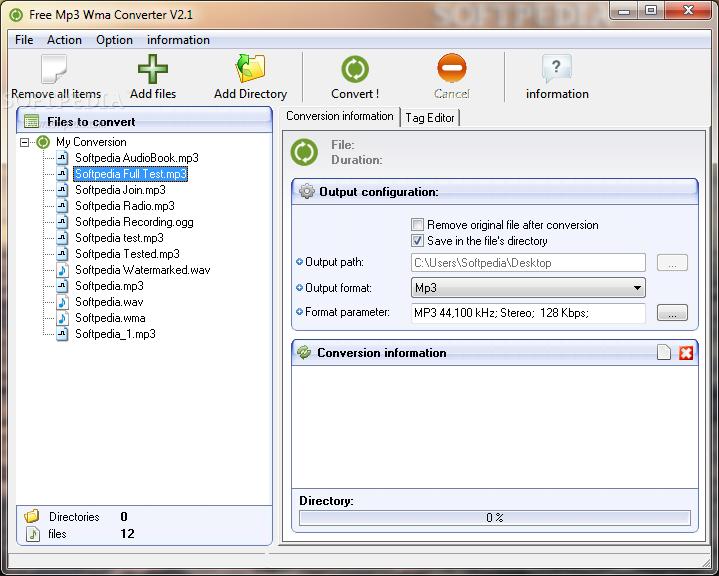 Télécharger sur eMule Free Mp3 Wma Converter