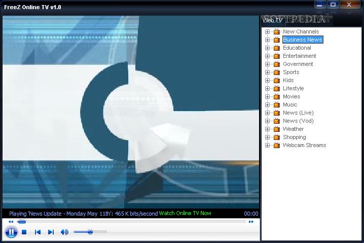 FreeZ Online TV screenshot 1