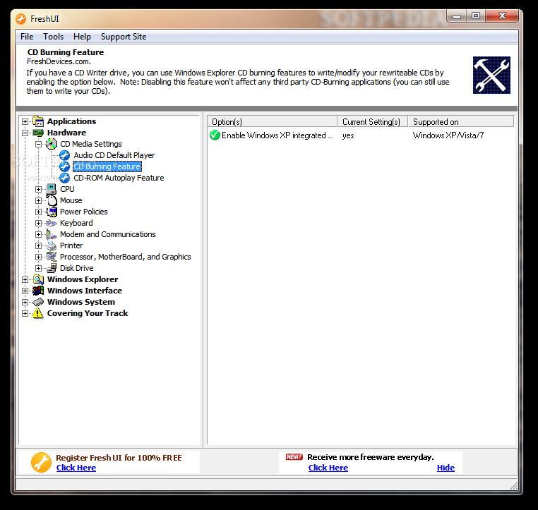 برنامج لتسريع  سرعة الجهاز Fresh-UI_2