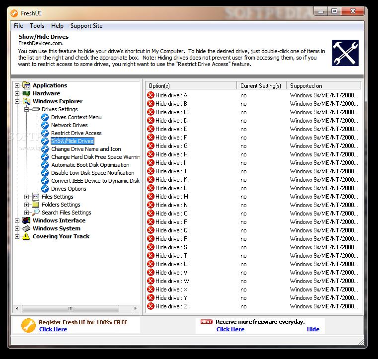 برنامج لتسريع  سرعة الجهاز Fresh-UI_3