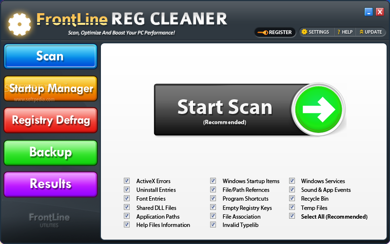 http://www.softpedia.com/screenshots/Frontline-Reg-Cleaner_1.png
