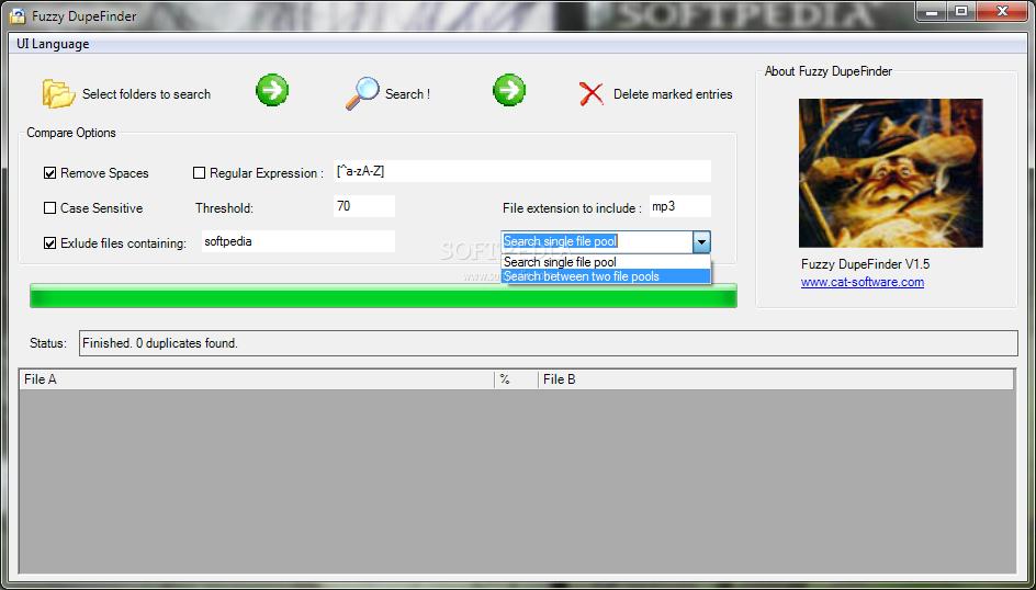 برنامج العثور وإزالة الملفات المكررة مجموعات