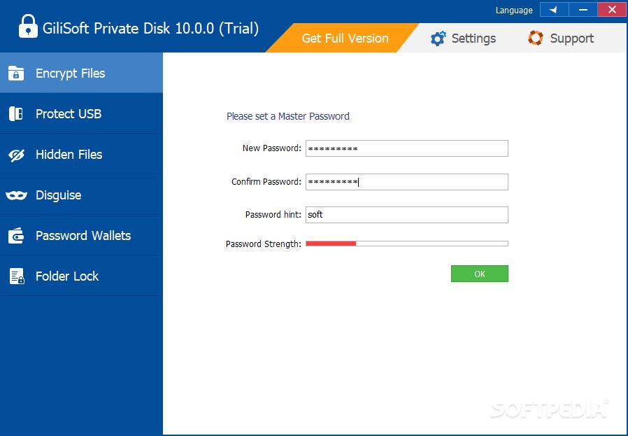 برنامج التشفير القرص الخاص