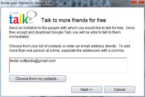 برنامج Google Talk v1.0.0.96