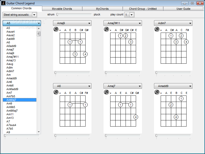 Tablature Legend submited images.