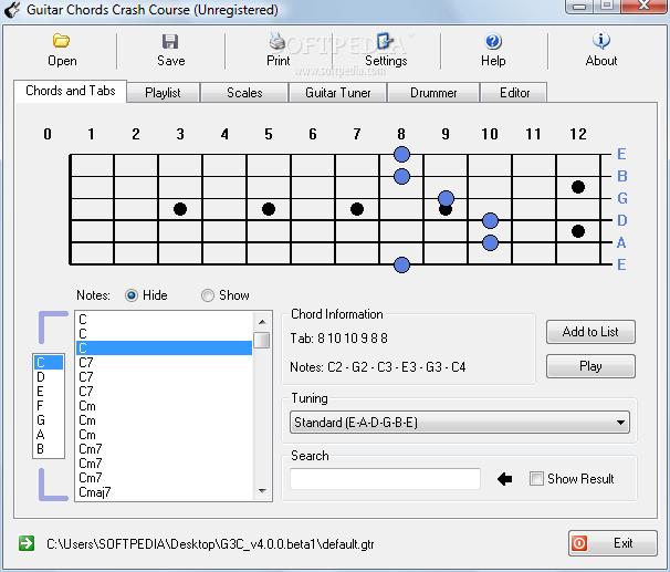 arinenal: guitar tabs chords