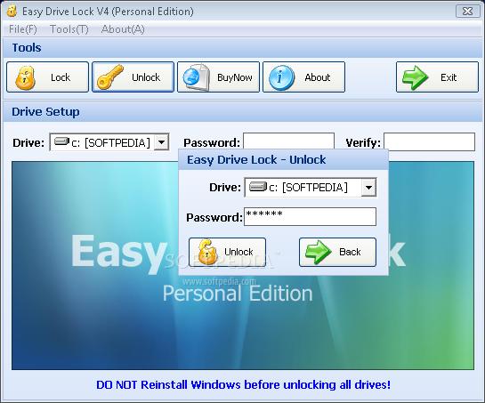 Easy Drive Lock 4.0