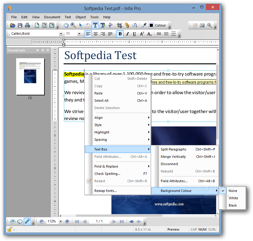 infix pdf editor portable free download
