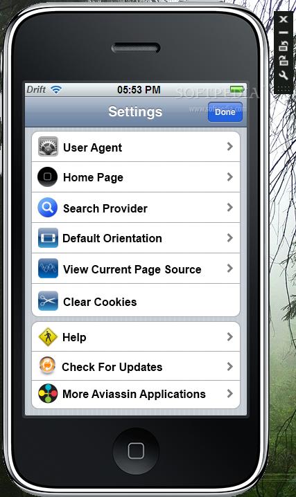 Iphone Drift 2 برنامج متصفح الأي فون الجديد