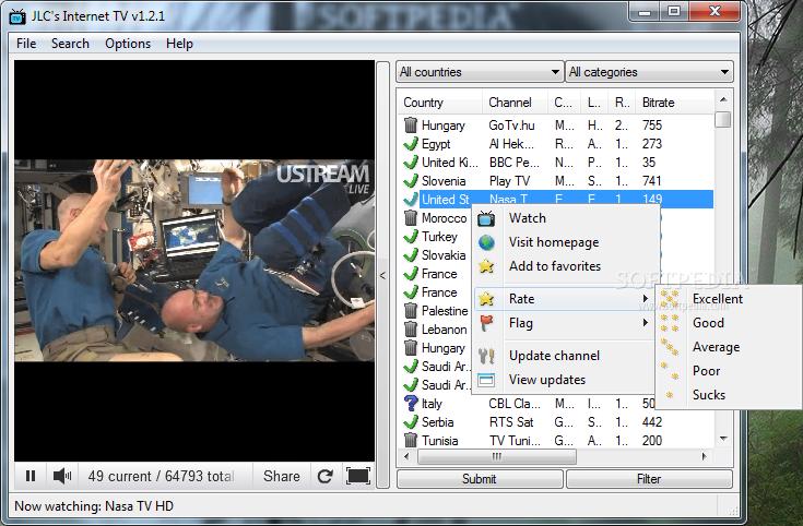 ������ Internet TV 1.1.0 �������������� ������� ���� ���� �� ������ FREE