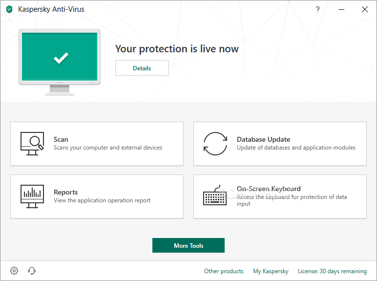 ������ Kaspersky Anti-Virus Update August