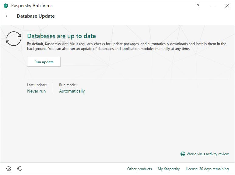 برنامج Kaspersky Anti-Virus 2012 برنامج